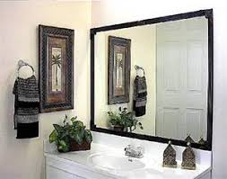 Frame Existing Bathroom Mirror Frame Existing Mirrors Up To 75 In X 72 In