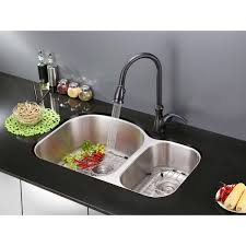 ruvati rvm4600 undermount 16 gauge 34 kitchen sink double bowl ruvati rvm4600 undermount 16 gauge 34 kitchen sink