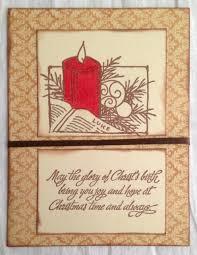 handmade christmas cards advent candle handmade christmas cards brown bird handmade