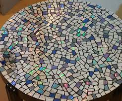 cd mosaic table mosaics mosaic projects and craft