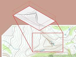 how to read topographic maps 4 ways to read topographic maps wikihow