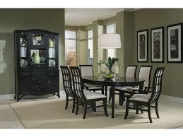 studio one black 5 pc round table dining set value city