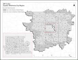 okc zip code map oklahoma city zip codes map zip code map