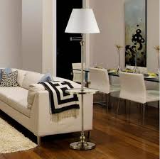 Bedside Table With Lamp Attached Floor Lamp With Attached Table U2014 Complete Decorations Ideas