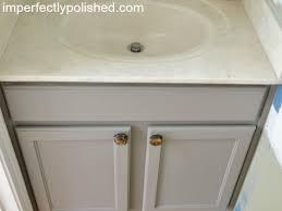 Painting Bathroom Vanity by Half Bath Vanity Makeover Annie Sloan Chalk Paint Annie Sloan