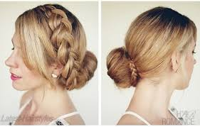 hairstyles using a bun donut elegant hairstyle the big braided bun alldaychic