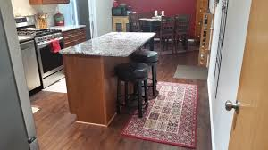 granite countertop upper cabinet depth microwave carrara subway