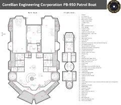 corellan engineering corporation pb 950 deckplan star wars corellan engineering corporation pb 950 deckplan