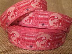 seahawk ribbon seattle seahawks 1 5 grosgrain craft ribbon by gametimescrapbooks