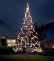 flagpole tree lighting 6 m 20 ft