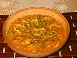 cuisiner le calamar riz aux calamars la cuisine marocaine chez lalla fatima