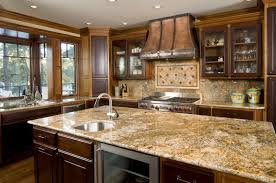 Kitchens With Glass Cabinet Doors Countertops Tuscan Kitchen Creame Marble Countertop Distressed