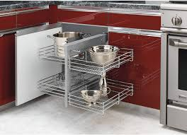 blind corner kitchen cabinet ideas rev a shelf 5psp 15 cr 15 inch chrome blind corner 4 shelf slide out kitchen cabinet organizer silver