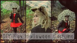 Fox Halloween Costume Diy Fox Halloween Costume Makeup Hair Ears U0026 Tail