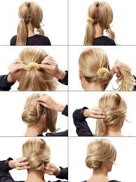Hochsteckfrisurenen Selber Machen Glatte Haare by Die Besten 25 Dutt Anleitung Ideen Auf Anleitungen