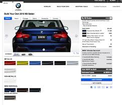 bmw m3 paint codes 2016 bmw m3 facelift configurator