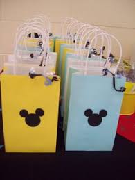 mickey mouse favor bags mouse in the house mickey mouse birthday mickey mouse and mice