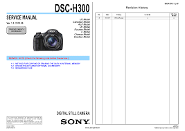 sony dsc h300 ver1 0 service manual download schematics eeprom