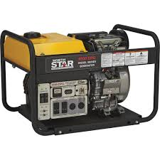 northstar portable diesel generator u2014 6500 surge watts 6120 rated