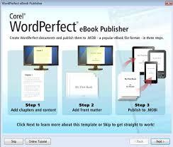 format for ebook publishing wordperfect office tips tricks tips tricks