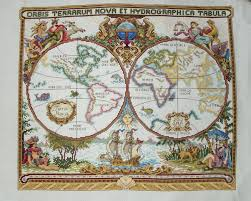 world map completed where haberdashery and geekdom combine