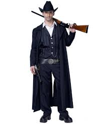 bounty hunter cowboy costume men halloween costumes