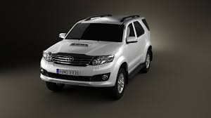 toyota fortuner 360 view of toyota fortuner 2012 3d model hum3d store