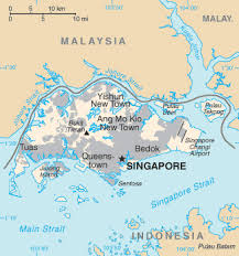 world map with country names and capital cities singapore