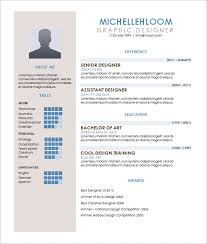 resume exle for contemporary resume template 4 free word excel pdf format