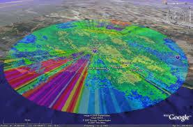 Phoenix Weather Map by Wxanalyst Virtual Globe Radar Project Google Earth Kml Kmz