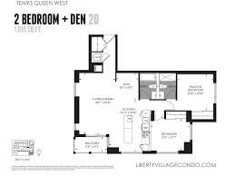 2 Bedroom Condo Floor Plans by 2 Bedroom Apartments For Rent Toronto Queen West 2 Bedroom