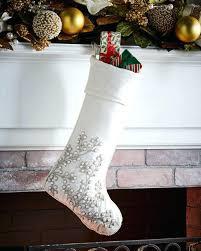 christmas stockings sale white christmas stockings the white stocking white and silver