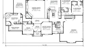 large kitchen floor plans large ranch floor plans house plans with large kitchen island