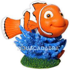 disney finding nemo aquarium fish tank ornament marlin dory crush