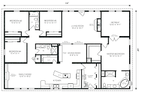 4 bedroom house plans 1 story simple house plans 4 bedrooms littleplanet me