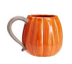 pumpkin mug set of 4 pottery barn