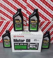 lexus ls430 engine oil capacity genuine toyota lexus 0w20 motor oil qty 12 quarts in a case ebay