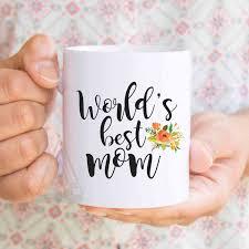 gift for mom christmas gifts for mom world s best mom coffee mug mom birthday