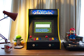 Make Your Own Arcade Cabinet by Build Your Own Bartop The Starcade 2 Player Bartop