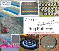 Free Crochet Patterns For Rugs Free Crochet Pattern For Kitchen Rug Dancox For