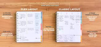 two page weekly planner template livewell planner from inkwell press planners for women weekly planner with two page month view weekly planner in horizontal or vertical layout