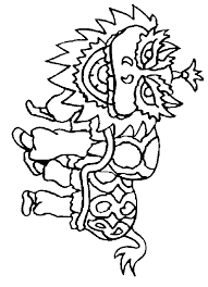 chinese dragons coloring pages coloring home