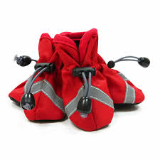 Dog Booties Hardwood Floors Slip On Paws Dog Booties By Dogo Solid Red With Same Day