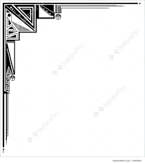 illustration of geometric tribal black and white