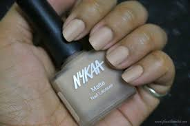 nykaa matte nail enamel collection review swatches