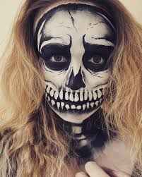Scary Skeleton Face Painting Halloween by Face Painting Emily U0027s Entertainment