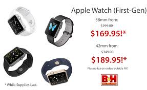 apple watches black friday killer deals 38mm apple watch for 170 42mm apple watch for 190
