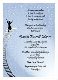 graduation invitations wording oxsvitation com