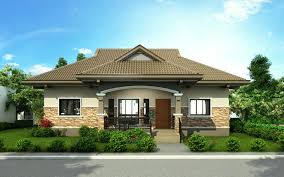 Small House Outside Design by Pinoy House Design 2015002 Is A One Storey House Design With A