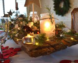 furniture awesome christmas decoration ideas for party table cool